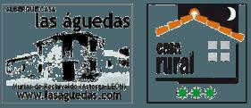 Sello de Las Águedas y las 3 estrellas de la Casa Rural Las Águedas